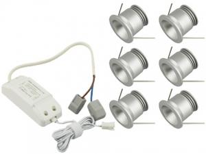 3W Mini LED Downlight, 6 PCS per Unit