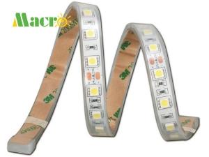 5050 LED Strip, 60 LEDs/m, Ra>90, Silicone Tube Waterproof