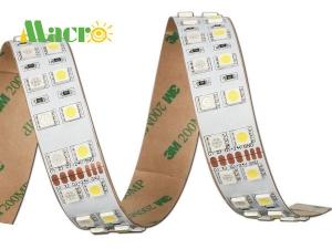 RGBW Flexible LED Strip, 120 LEDs/m, 24V