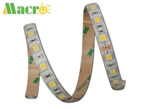 5050 LED Strip, 60 LEDs/m, 3000K, Ra>90, Silicone Resin Waterpro